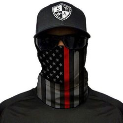 SA Co. Chusta Wielofunkcyjna Face Shield™ Thin Red Line Flag - Thin Red Line Flag