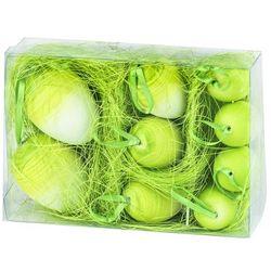 Jajka wielkanocne 9 szt., zielony, HTH