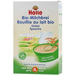 HOLLE 250g Kaszka mleczno-orkiszowa BIO dla niemowląt po 4 miesiącu ży