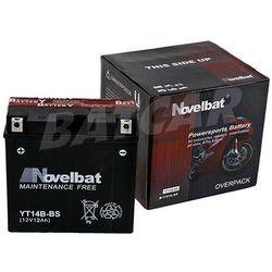 Akumulator Motocyklowy Novelbat YTX12A-BS 12V 10Ah 120A (EN)