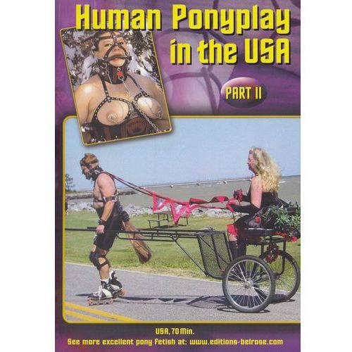 DVD Human Ponyplay In The USA Part 2