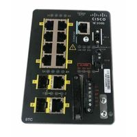 IE-2000-8TC-G-L Switch Cisco IE2000 8FE RJ45 ports, 2GE Combo, Lan Lite