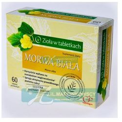 Morwa biała 60 tabletek