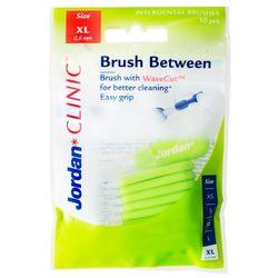 Jordan Brush Between, szczoteczki do czyszczenia przestrzeni międzyzębowych, XL, 10 szt.