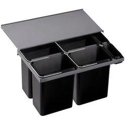 Sortownik odpadów, kosz na śmieci, poczwórny BLANCO FLEXON 90/6 (516601)