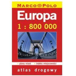 Europa. Atlas drogowy