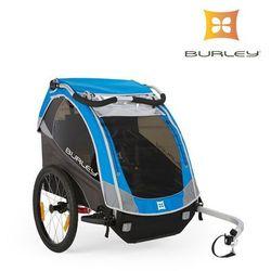 Przyczepka rowerowa Burley D'Lite NEW 2016 niebieska amortyzowana