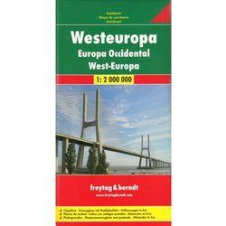 Europa Zachodnia. Mapa 1:2 000 000 (opr. twarda)