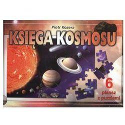 Księga kosmosu 6 plansz z puzzlami