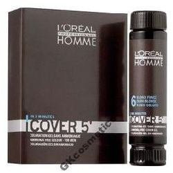 LOREAL HOMME FARBA COVER + OXYDANT + SZAMPON