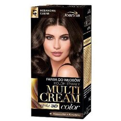 Farba do włosów Joanna Multi Cream Color czekoladowy brąz 41