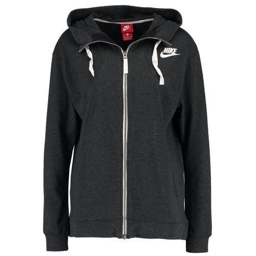 a4d9dc4ba Nike Sportswear GYM VINTAGE Bluza rozpinana black heather - porównaj ...