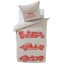 Komplet pościeli dziecięcej: poszwa na kołdrę + poszewka na poduszkę, Vintage Cars