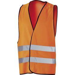 Kamizelka ochronna z poliestru, świetlisty pomarańcz
