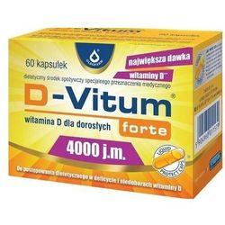 D-Vitum Forte Witamina D3 4000IU 60 kaps.