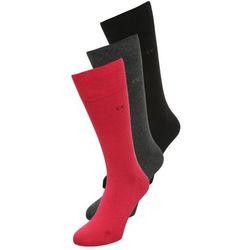 Calvin Klein Underwear ERIC 3 PACK Skarpety red/graphite heather/black