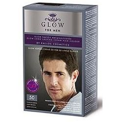 KALLOS FARBA GLOW FOR MEN 50 JASNY BRĄZ 50 ML