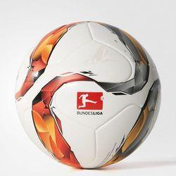 Adidas, piłka nożna DFL Torfabrik Junior 290g, biała, pomarańczowo-srebrna Darmowa dostawa do sklepów SMYK