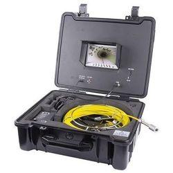 Specjalistyczna kamera inspekcyjna / kominowa , przewód 30 m, IP 68, nagrywanie SD, monitor LCD 7