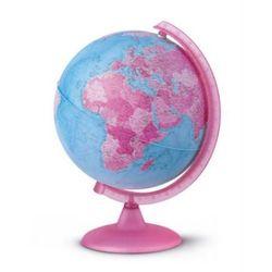 Pink Glob globus podświetlany polityczny, kula 26 cm Nova Rico
