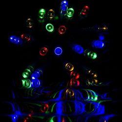 LAMPKI CHOINKOWE 100 LED /15m KOLOROWYCH NA ŚWIĘTA - 100 LED / 15 METRÓW