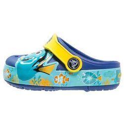 Crocs CROCSLIGHTS FINDING DORY Klapki cerulean blue/lemon