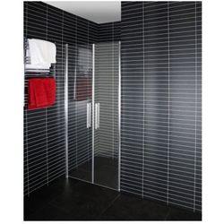DUSCHY DuoDoor Drzwi prysznicowe wahadłowe 80x190, transparentne 5261-80