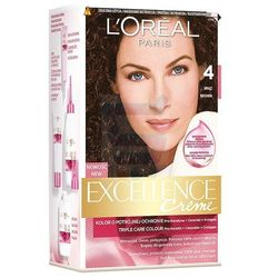 Loreal Paris Excellence Creme Farba do włosów Brąz nr 4