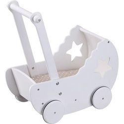 Kids Concept, Drewniany wózek z gwiazdką Darmowa dostawa do sklepów SMYK