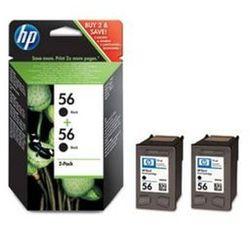 Tusz HP C9502AE nr 56 (2x19ml) zestaw dwupak czarny 2szt.