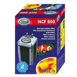 AQUA NOVA Filtr zewnętrzny do akwarium NCF 800l/h