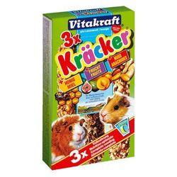 VITAKRAFT Kracker Mix - kolba miód owoce orzech dla świnki morskiej 3szt.