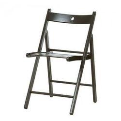 TERJE Krzesło składane, czarny