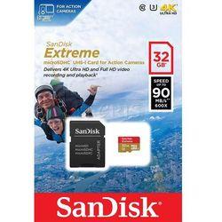Karta pamięci Sandisk microSDHC 32GB class 10 90MB/s + Adapter - SDSQXNE-032G-GN6AA