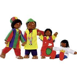 Goki, Elastyczne laleczki, Afrykańska rodzina Darmowa dostawa do sklepów SMYK