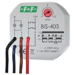 230V max 10A Przekaźnik bistabilny z wyłącznikiem czasowym w puszce BIS-403 F&F 4086