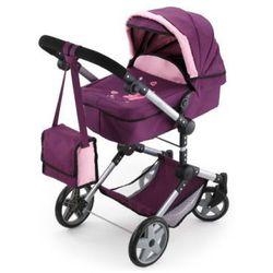 BAYER DESIGN Wielofunkcyjny wózek dla lalek Neo Pro, kolor śliwkowy
