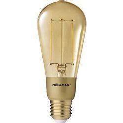Żarówka LED Megaman MM21074, 3 W = 21 W, 210 lm, 2200 K, ciepła biel, 230 V, 15000 h