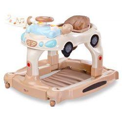 Toyz chodzik dziecięcy TipTop chodzik 3w1 kołyska pchacz beige