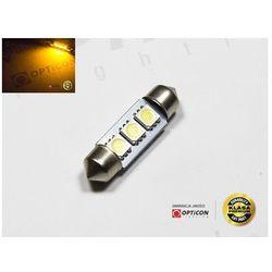 Żarówka 24V Led 36mm 3x SMD5050 C5W C10W Żółty
