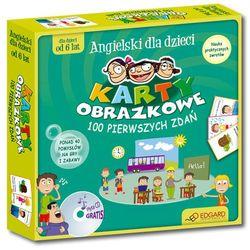 Angielski Dla Dzieci. Karty Obrazkowe. 100 Pierwszych Zdań. 40 Pomysłów Na Gry I Zabawy (Karty Obrazkowe + Poradnik + Płyta Cd)