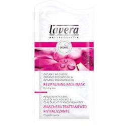 Lavera Faces rewitalizująca maska z bio różą i bio olejami z awokado i orzechów macadamia 10 ml