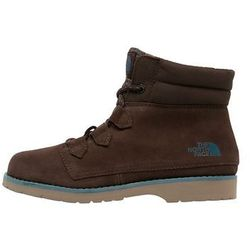 The North Face BALLARD Śniegowce demitasse brown/tapestry blue