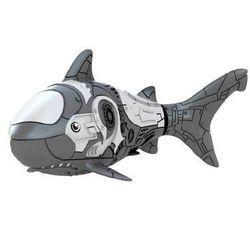 Robofish Rybka 2 Koralowce i Zamek rekin szary
