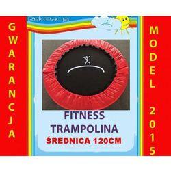 Mini fitness trampolina, śr. 120cm, 8 nóg.