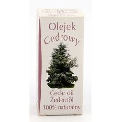 Olejek zapachowy naturalny Cedr 7 ml