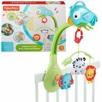 Fisher-Price CHR11 Rainforest Karuzela 3 w 1