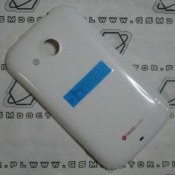 Obudowa HTC Desire C A320e tylna / pokrywa baterii biała