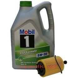 Filtr + olej Mobil 1 ESP Formula 5W30 Dodge Caliber 2,0TD