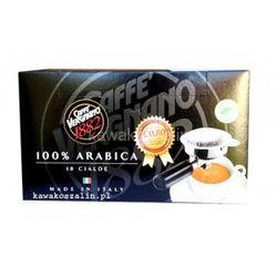 Kawa mielona Vergnano 100% Arabika – saszetki ESE 18 szt. - paczkomaty 6 zł wysyłka 24h